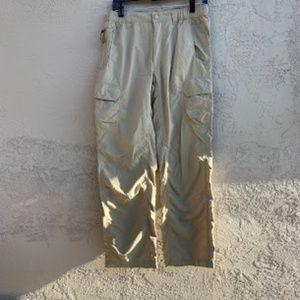 The North Face: Tan Khaki Cargo Pants